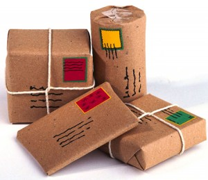 Courier and Shipping different parcels how?